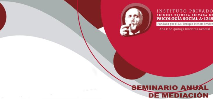 Seminario de anual de mediación 2019