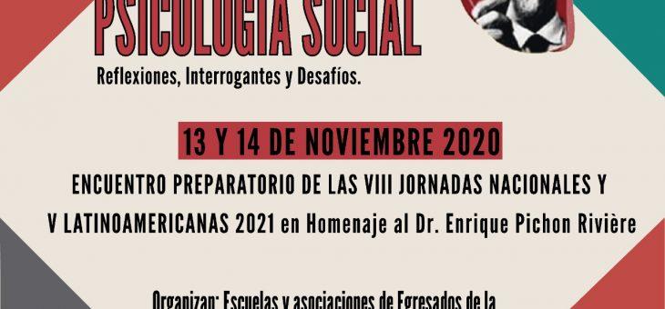 13-14/11 Encuentro preparatorio